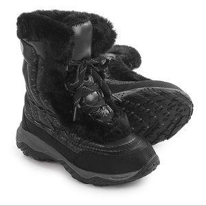 EUC The North Face Nuptse Fur Boots Women's Sz 6.5